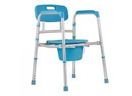 """Кресло-туалет TU5 47см 19"""" синий фото"""