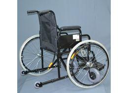 Кресло инвалидное Е 0810у в ручным приводом фото