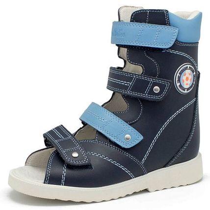 Обувь дет ортопед арт.240 р.25 син. фото